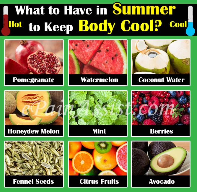 What to Have in Summer to Keep Body Cool?