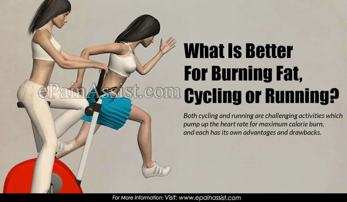 What Is Better For Burning Fat,  Cycling or Running?