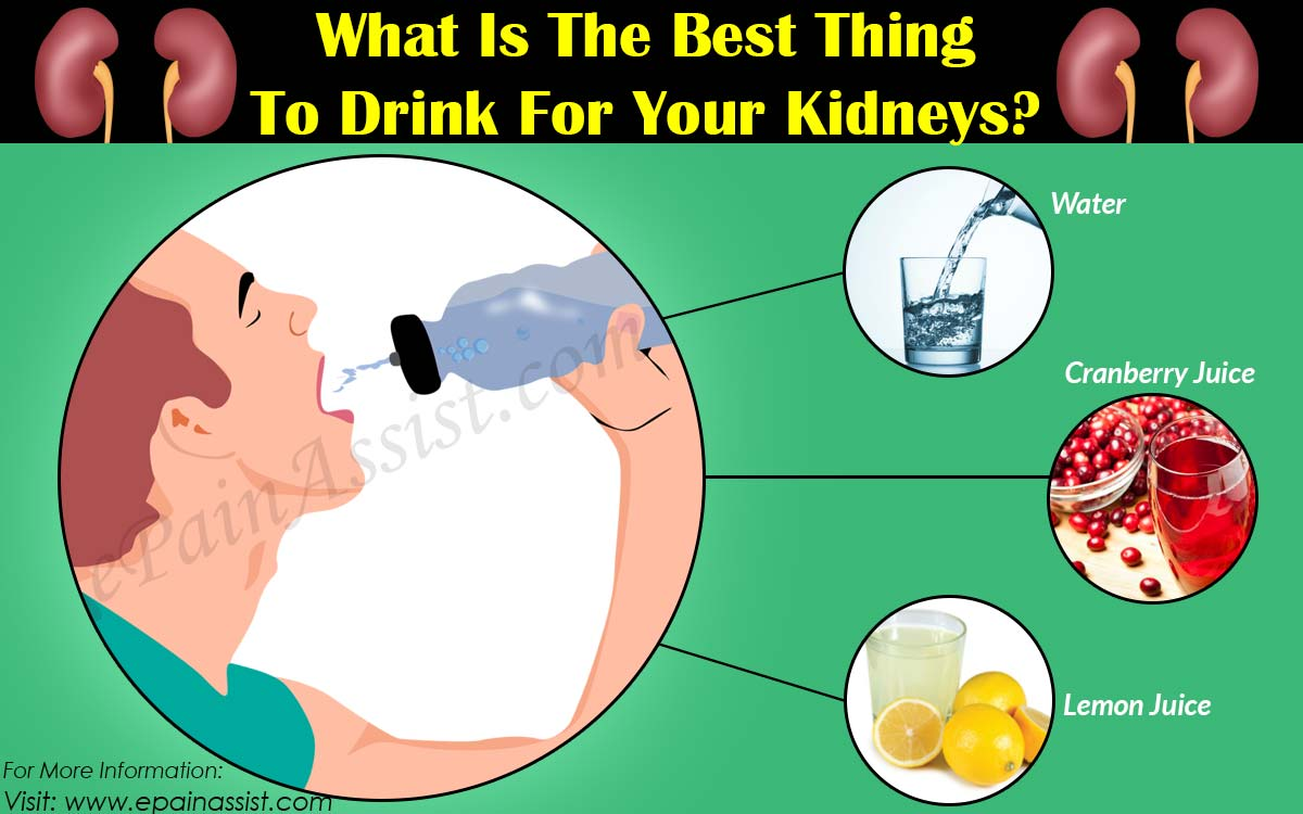 What Is The Best Thing To Drink For Your Kidneys?