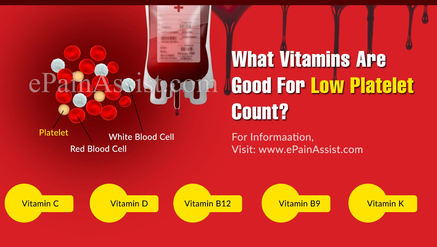 What Vitamins Are Good For Low Platelet Count?