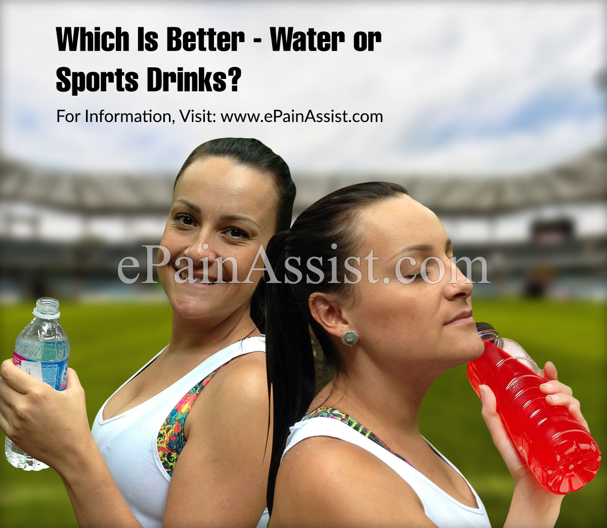 Which Is Better - Water or Sports Drinks?