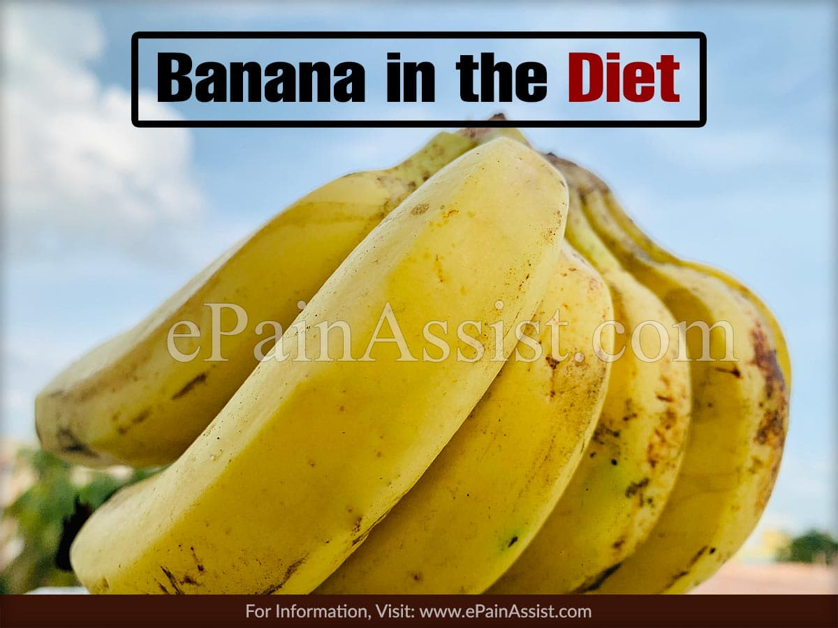 Banana in the Diet