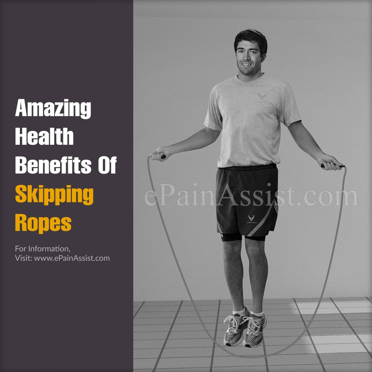 Amazing Health Benefits of Skipping Ropes