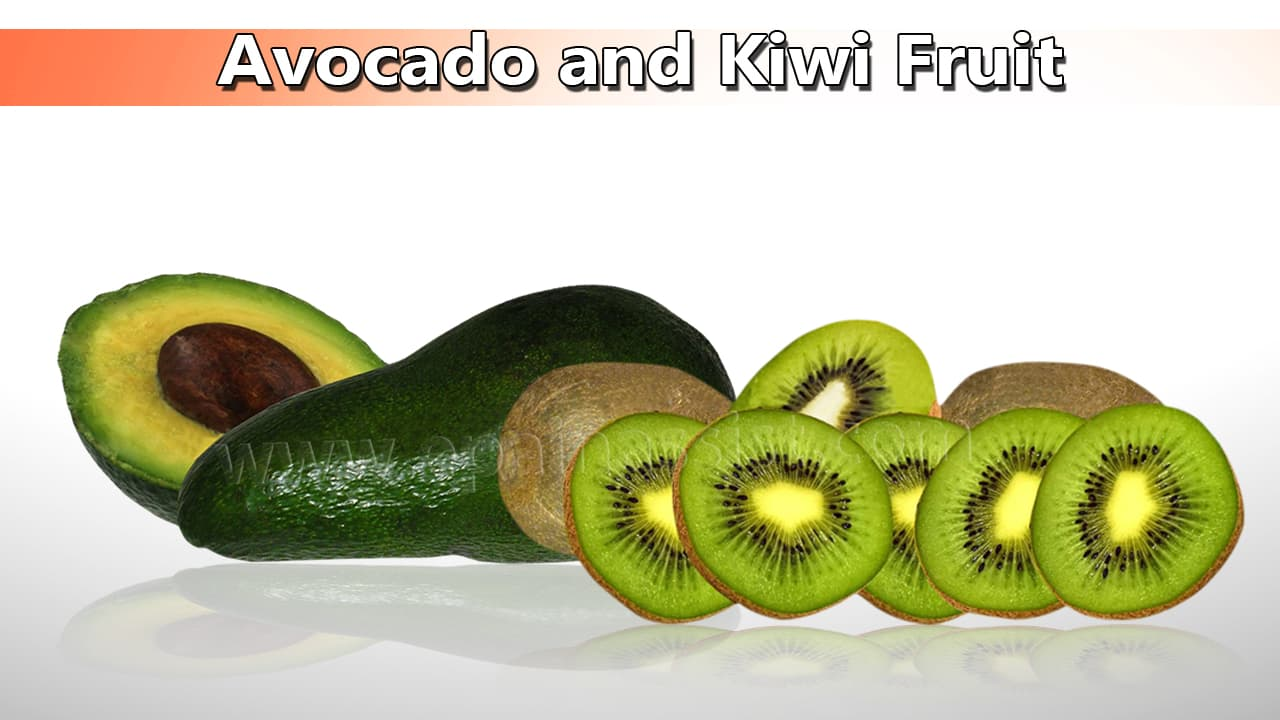 Avocado and Kiwi Fruit Good for High Blood Pressure