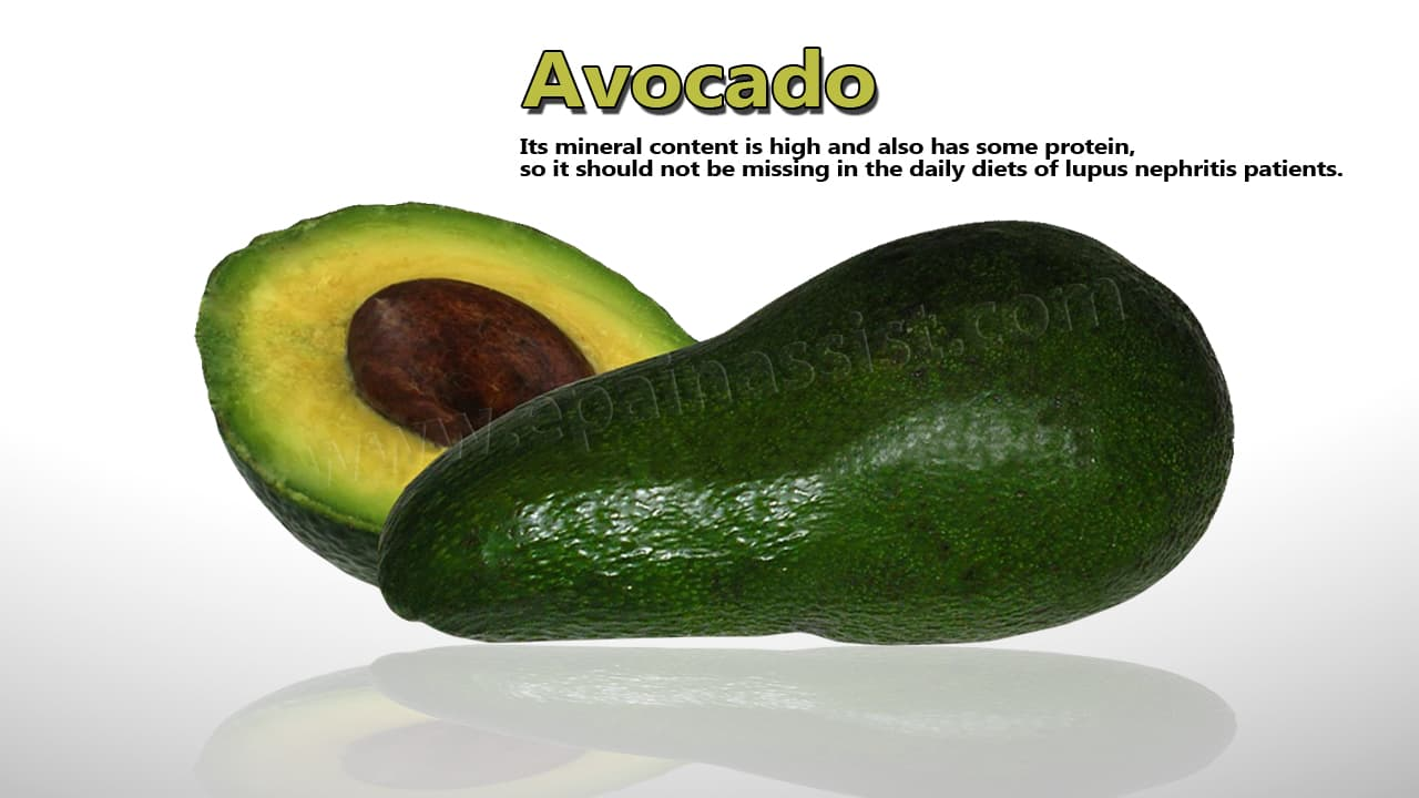 Avocado For Lupus Nephritis