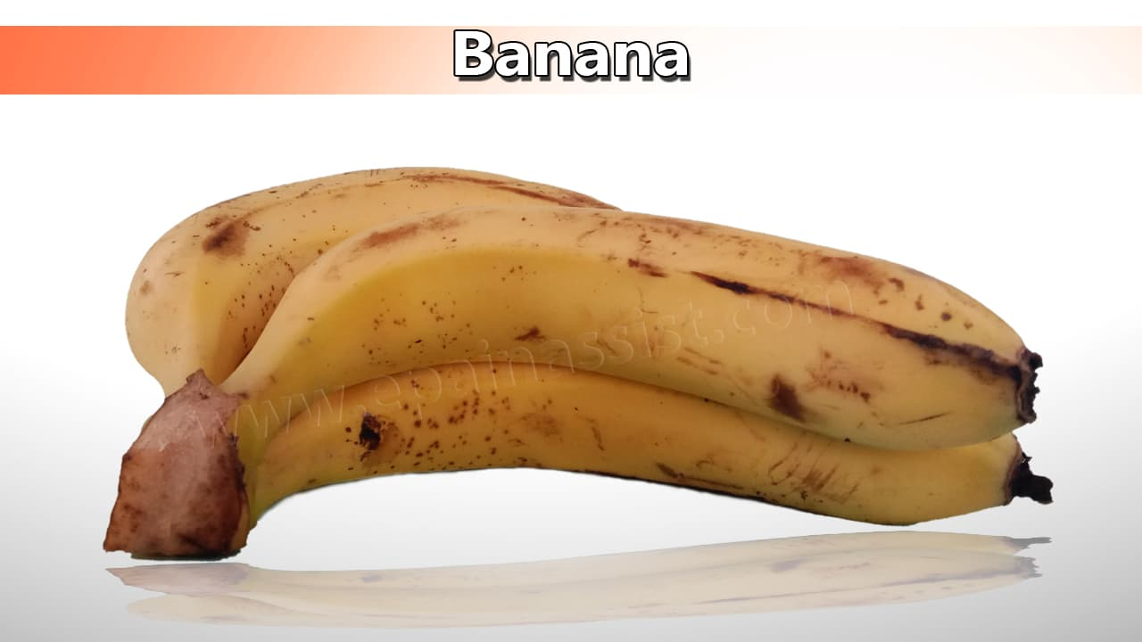 Banana Good for High Blood Pressure