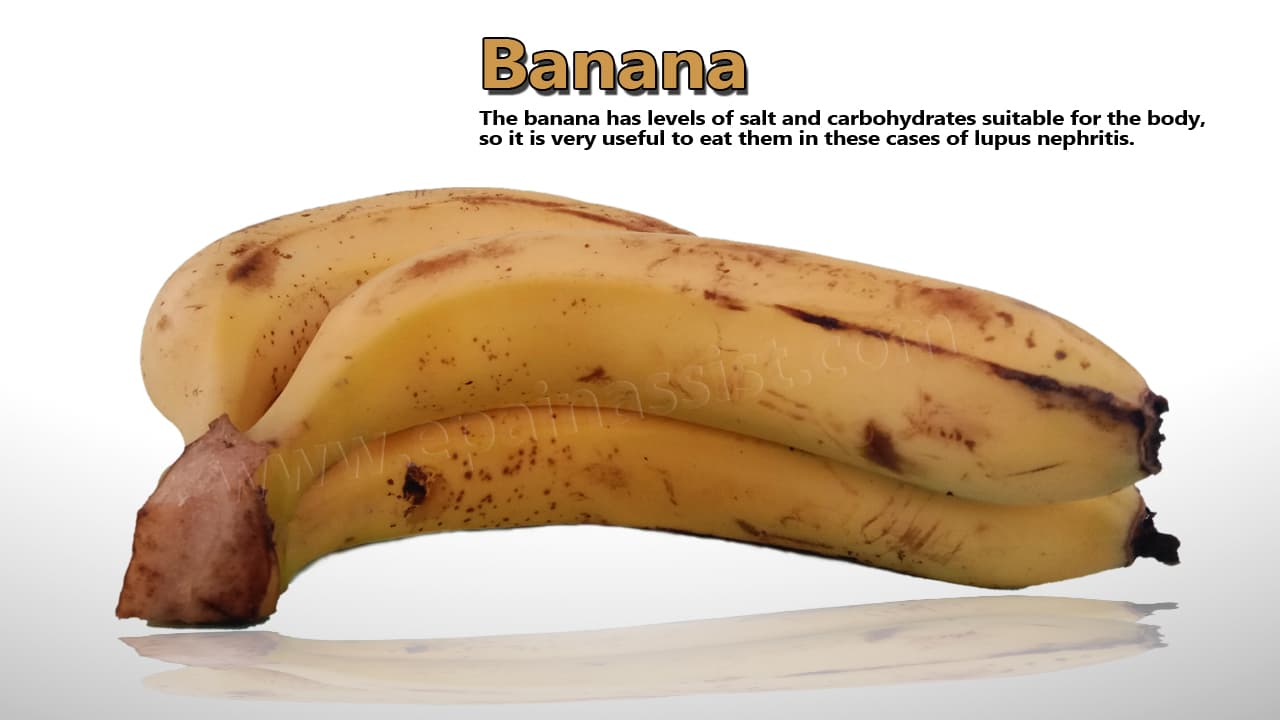 Banana For Lupus Nephritis