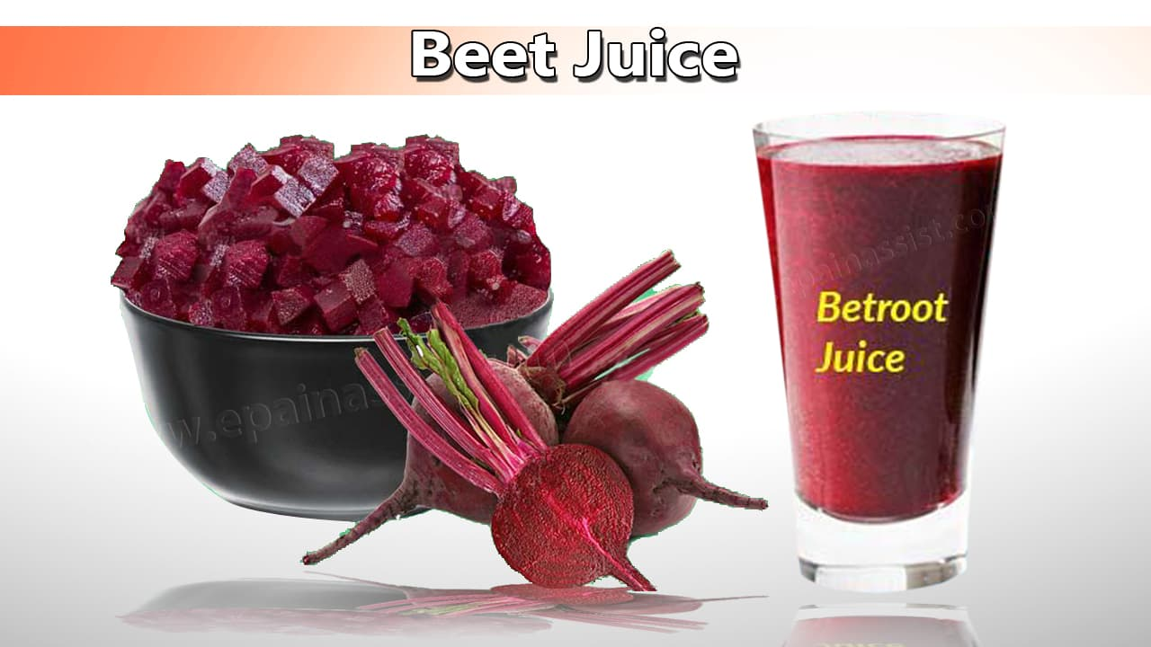 Beet Juice Good for High Blood Pressure
