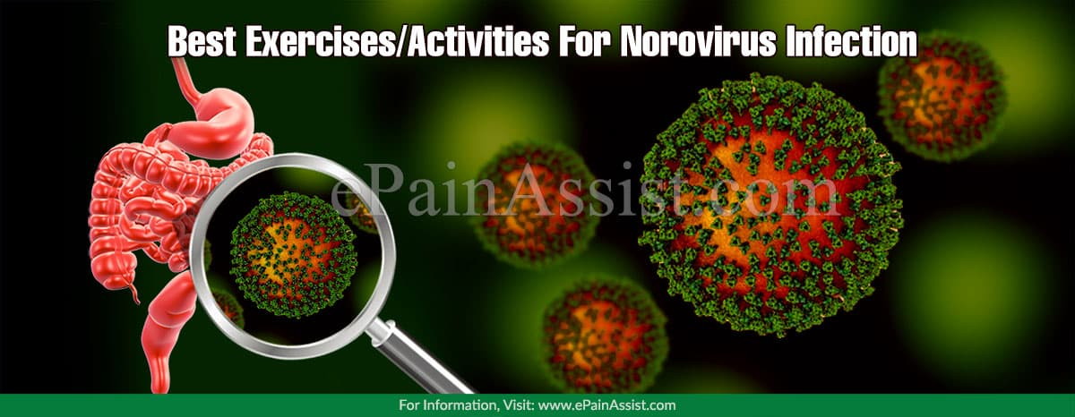 Best Exercises/Activities For Norovirus Infection