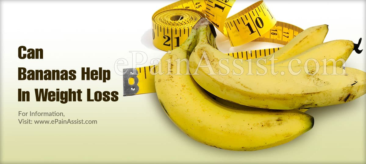 Can Bananas Help In Weight Loss?