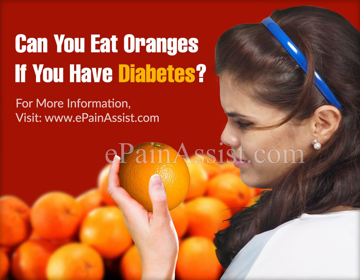 Can you Eat Oranges if You have Diabetes?
