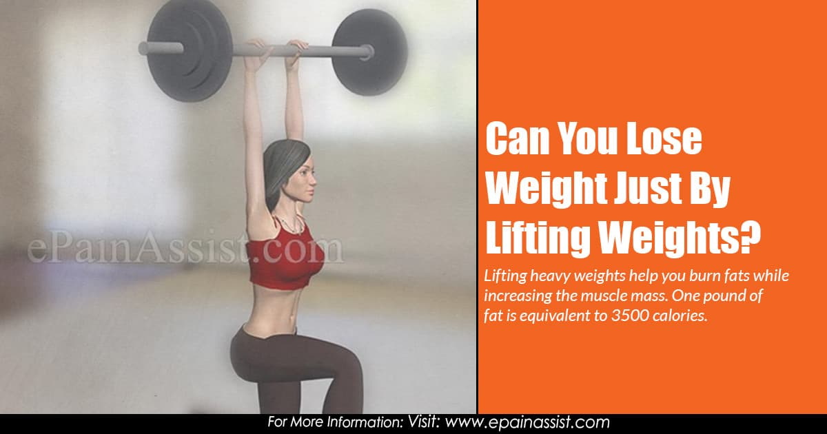 Can You Lose Weight Just By Lifting Weights?