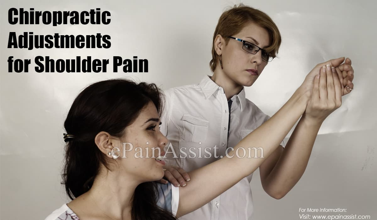 Chiropractic Adjustment for Shoulder Pain