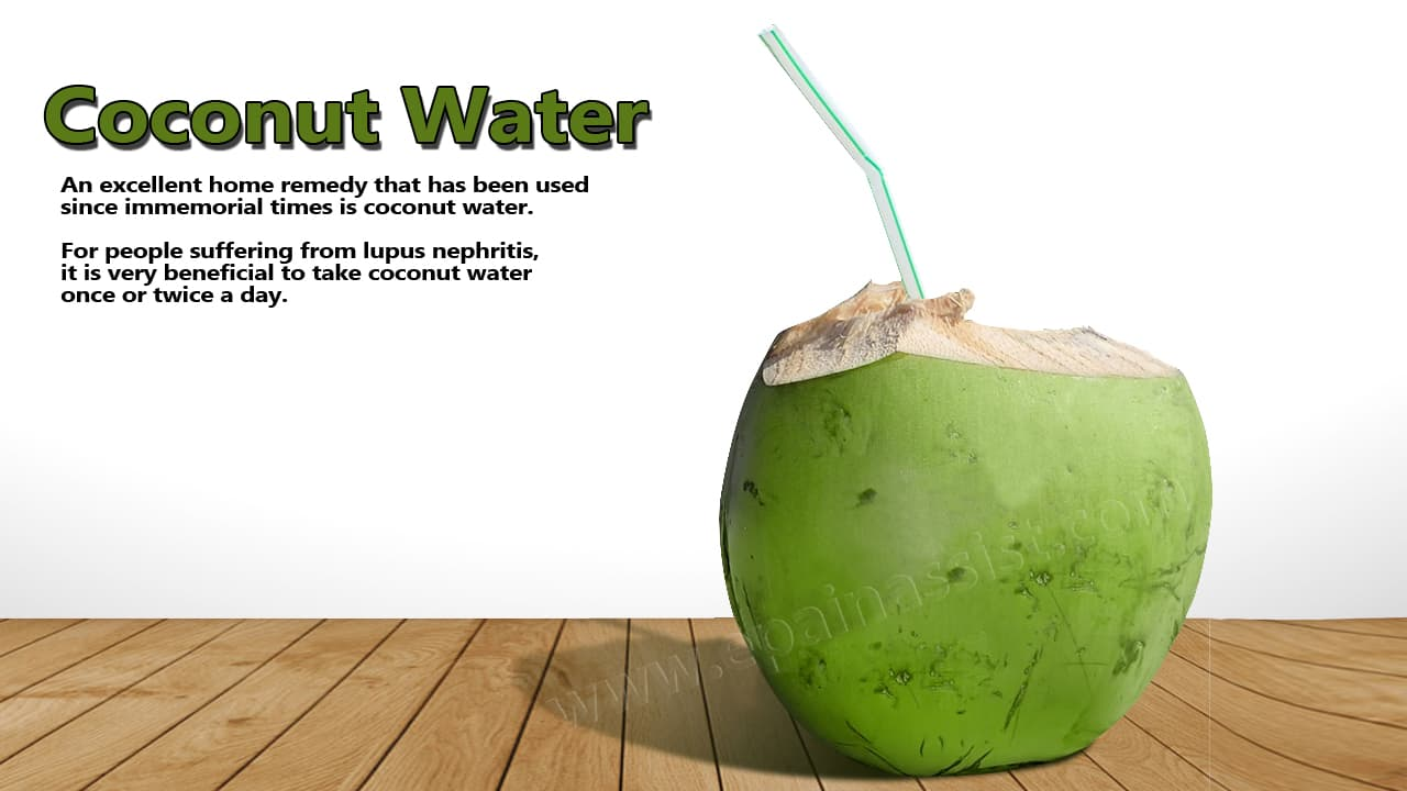 Coconut Water For Lupus Nephritis