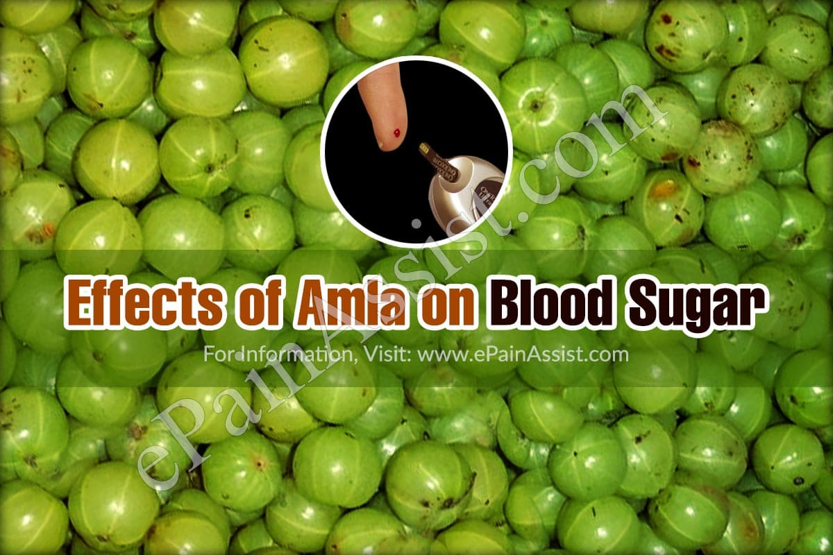 Effects of Amla on Blood Sugar