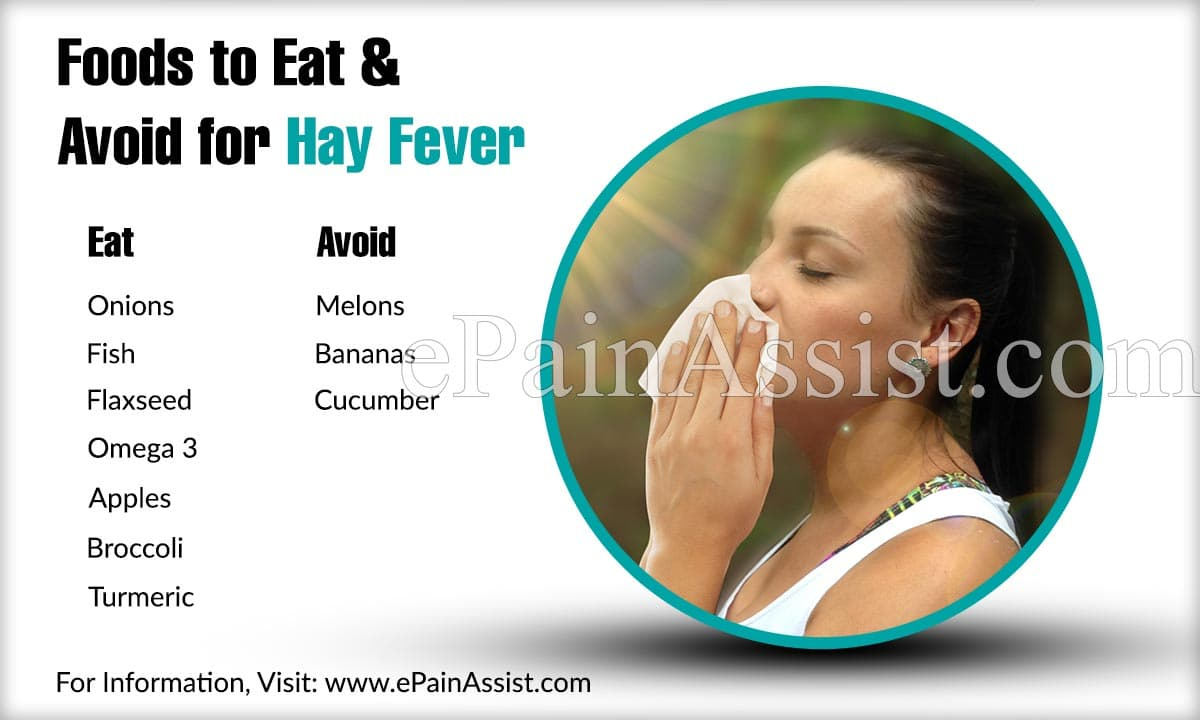 Foods to Eat & Avoid for Hay Fever