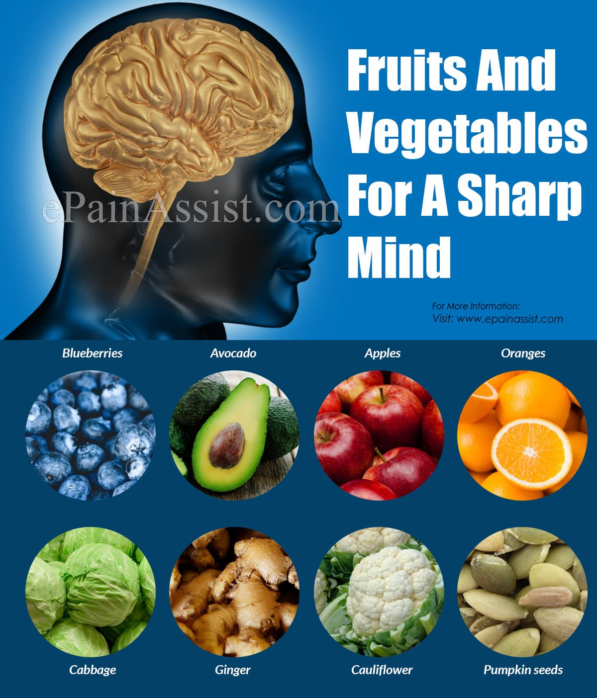 Fruits And Vegetables For A Sharp Mind