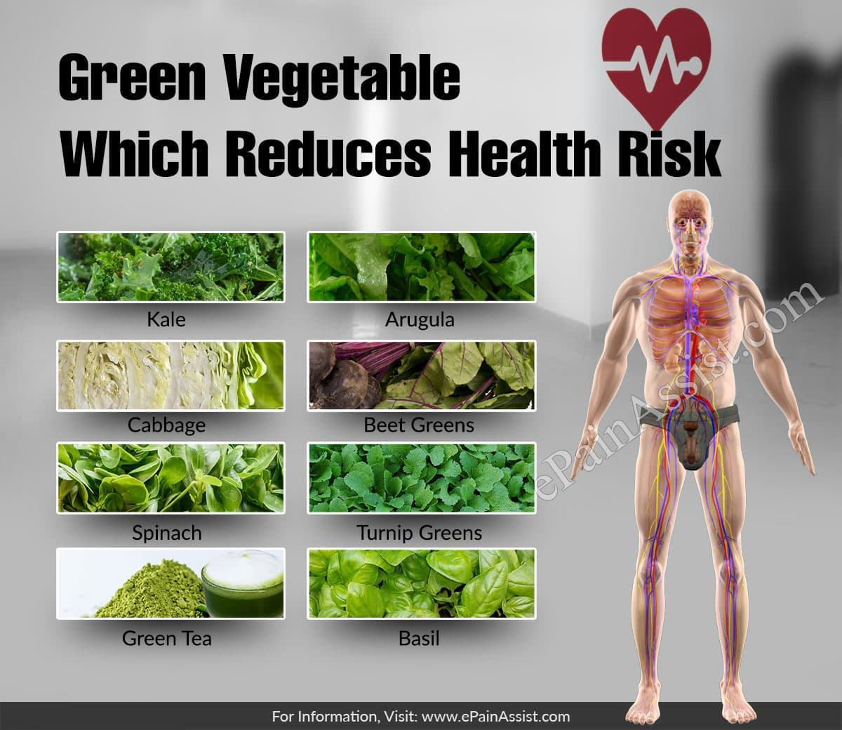 Green Vegetable Which Reduces Health Risk