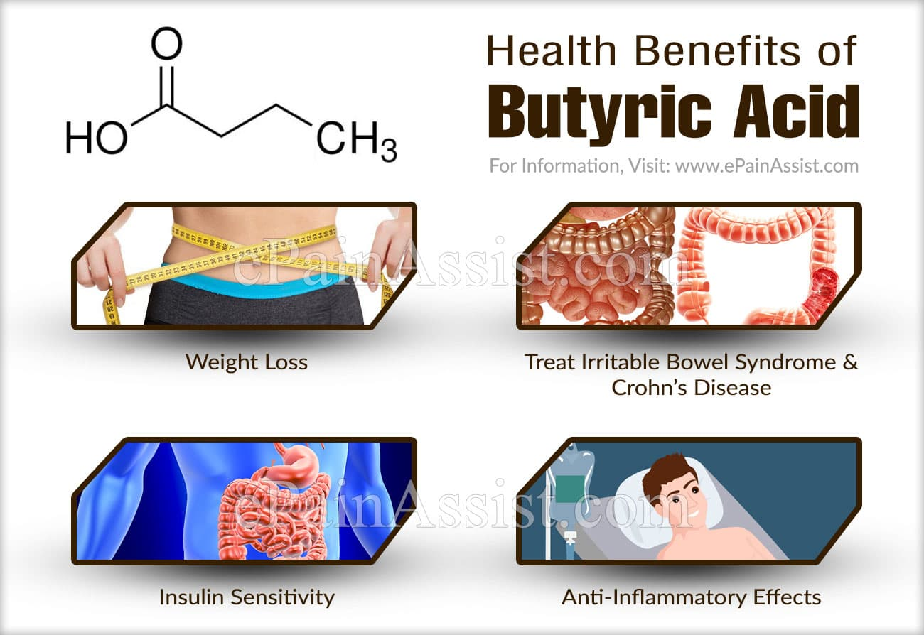 Health Benefits of Butyric Acid