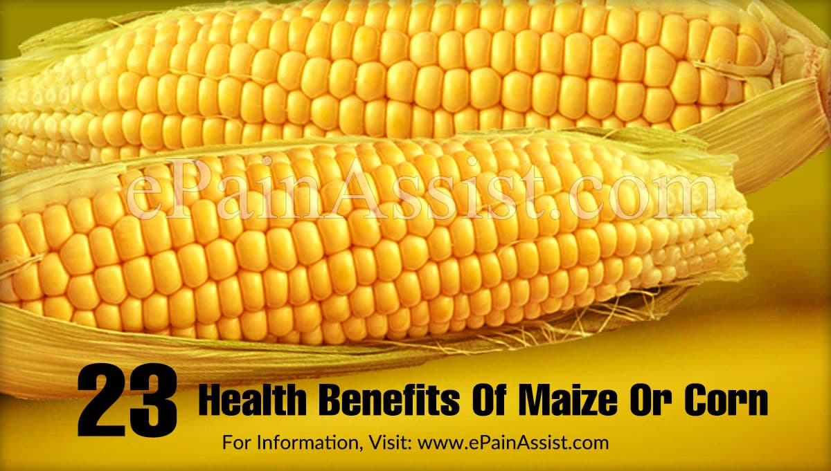 Health Benefits Of Maize Or Corn (Butta)