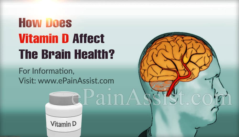 How Does Vitamin D Affect The Brain Health?