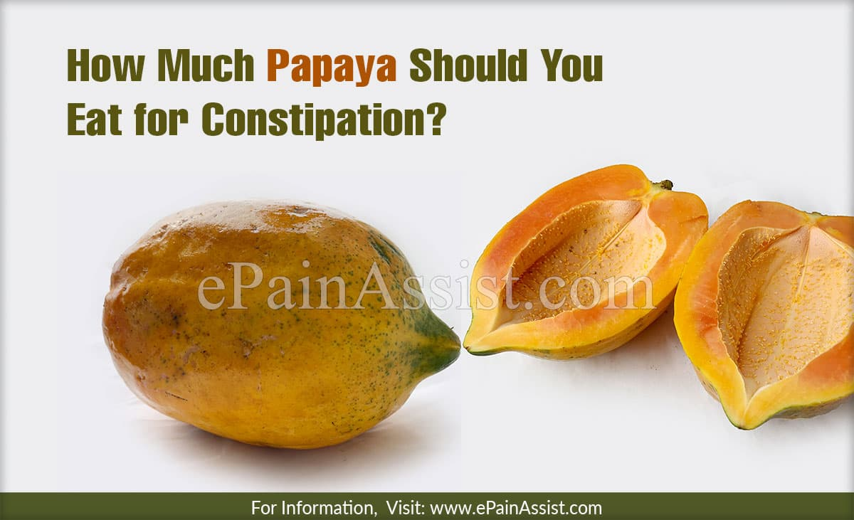 How Much Papaya Should You Eat for Constipation?