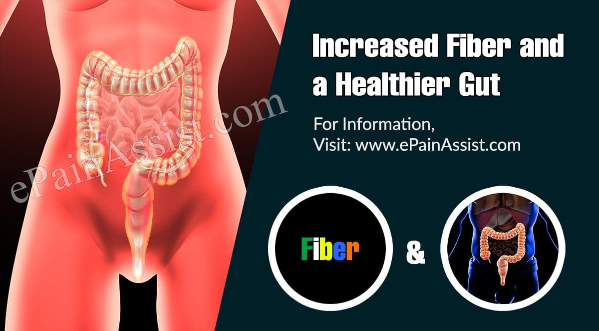 Increased Fiber and a Healthier Gut