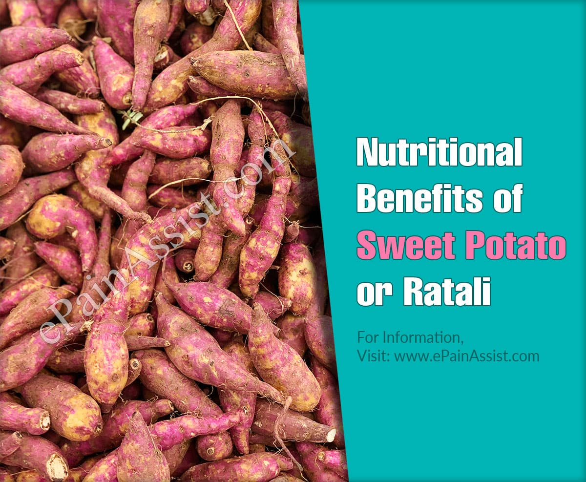 Nutritional Benefits of Sweet Potato or Ratali