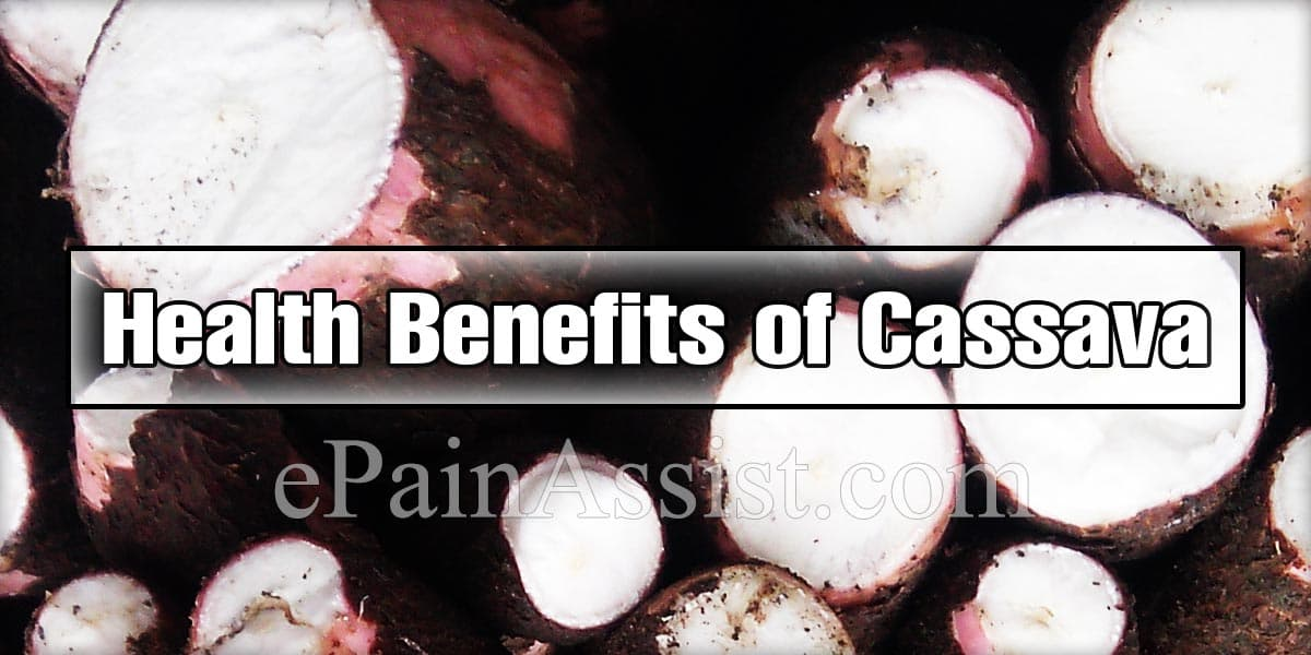 Nutritional Facts & Health Benefits of Cassava or Cassava Flour
