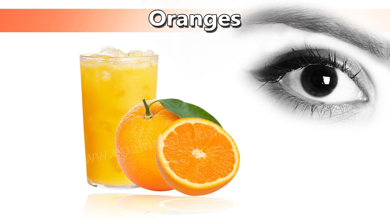 Oranges For Healthy Eyes