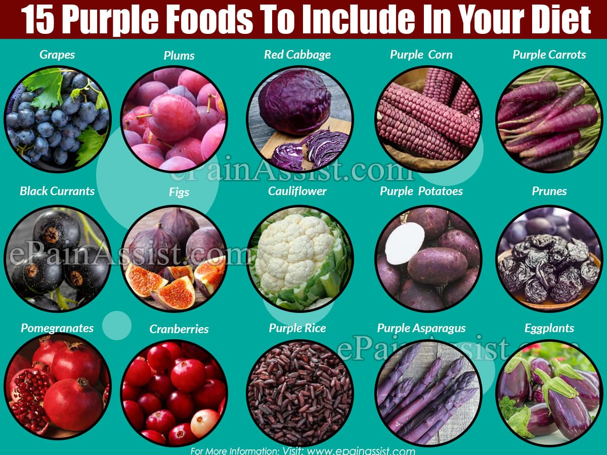 15 Purple Foods To Include In Your Diet