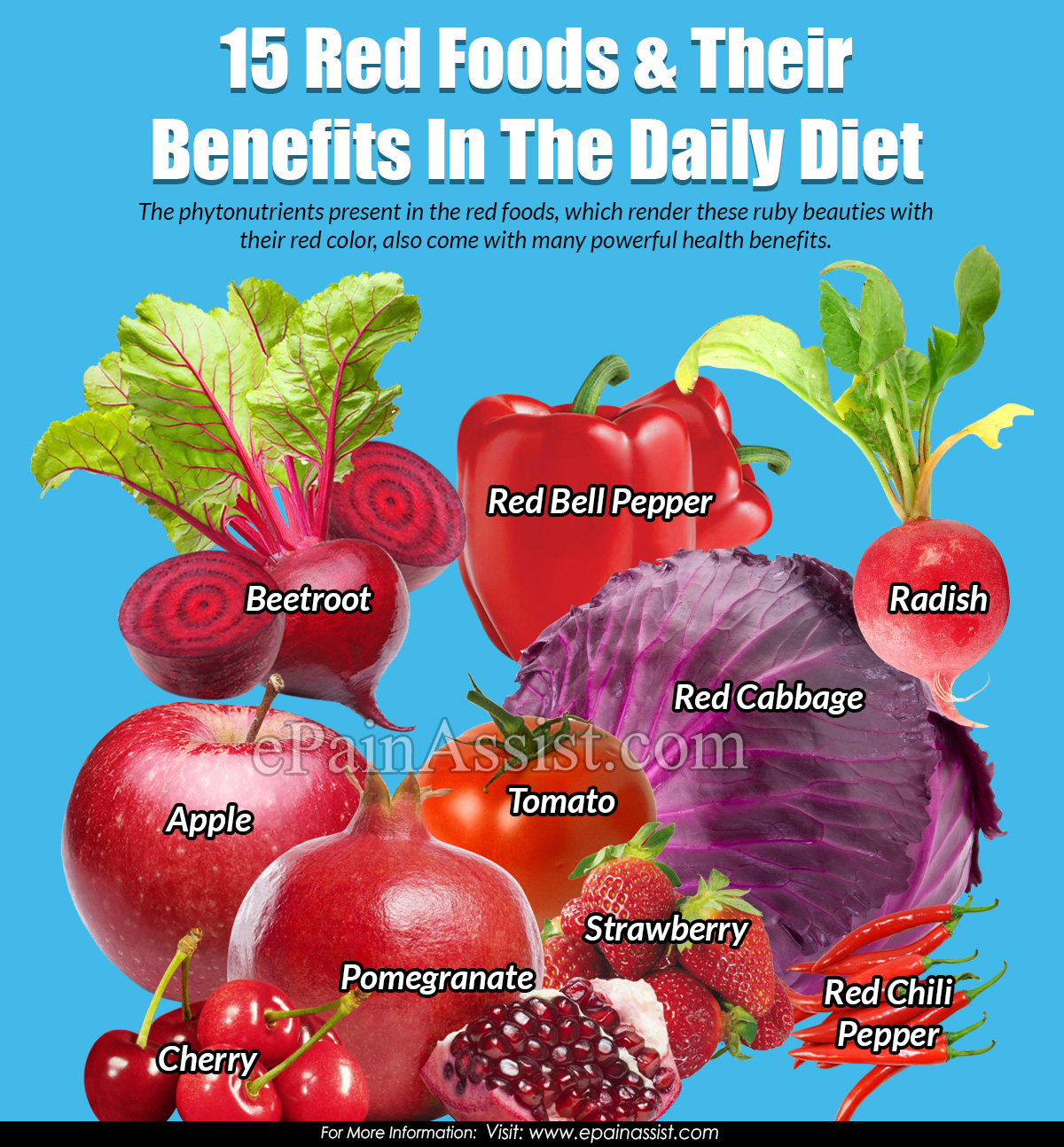 15 Red Foods & Their Benefits In The Daily Diet