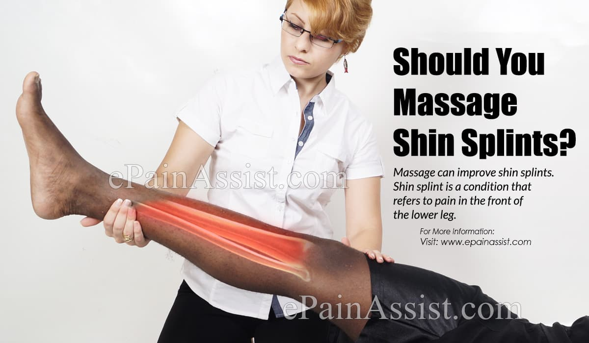 Should You Massage Shin Splints?