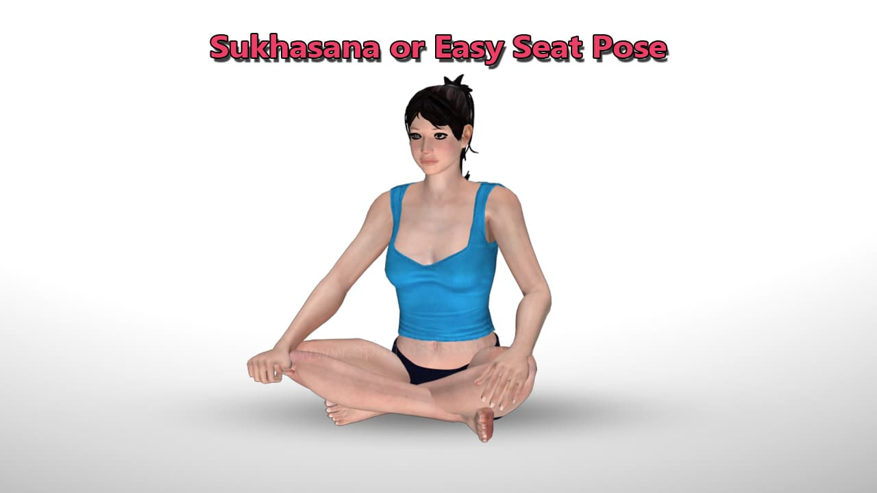 Sukhasana or Easy Pose That Can Help You Grow Tall
