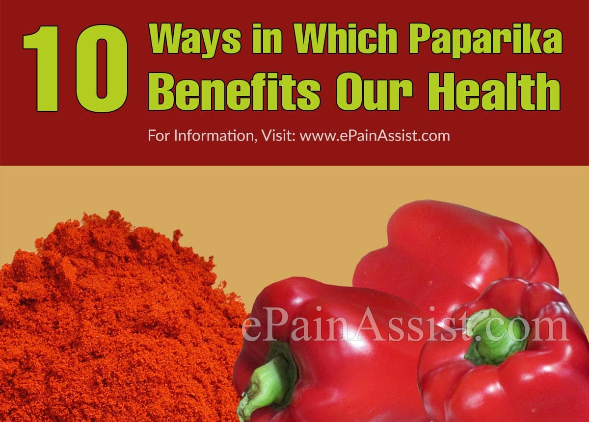 10 Ways in Which Paprika Benefits Our Health