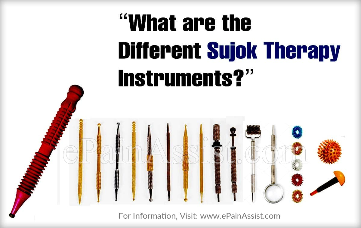 What are the Different Sujok Therapy Instruments?