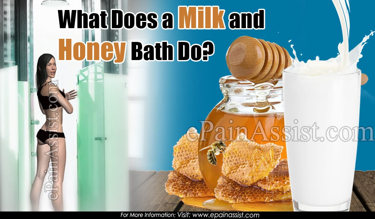 What Does a Milk and Honey Bath Do?