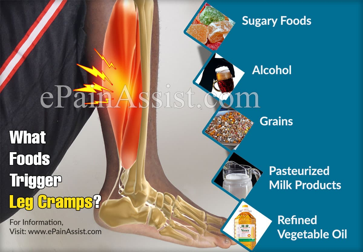 What Foods Trigger Leg Cramps?