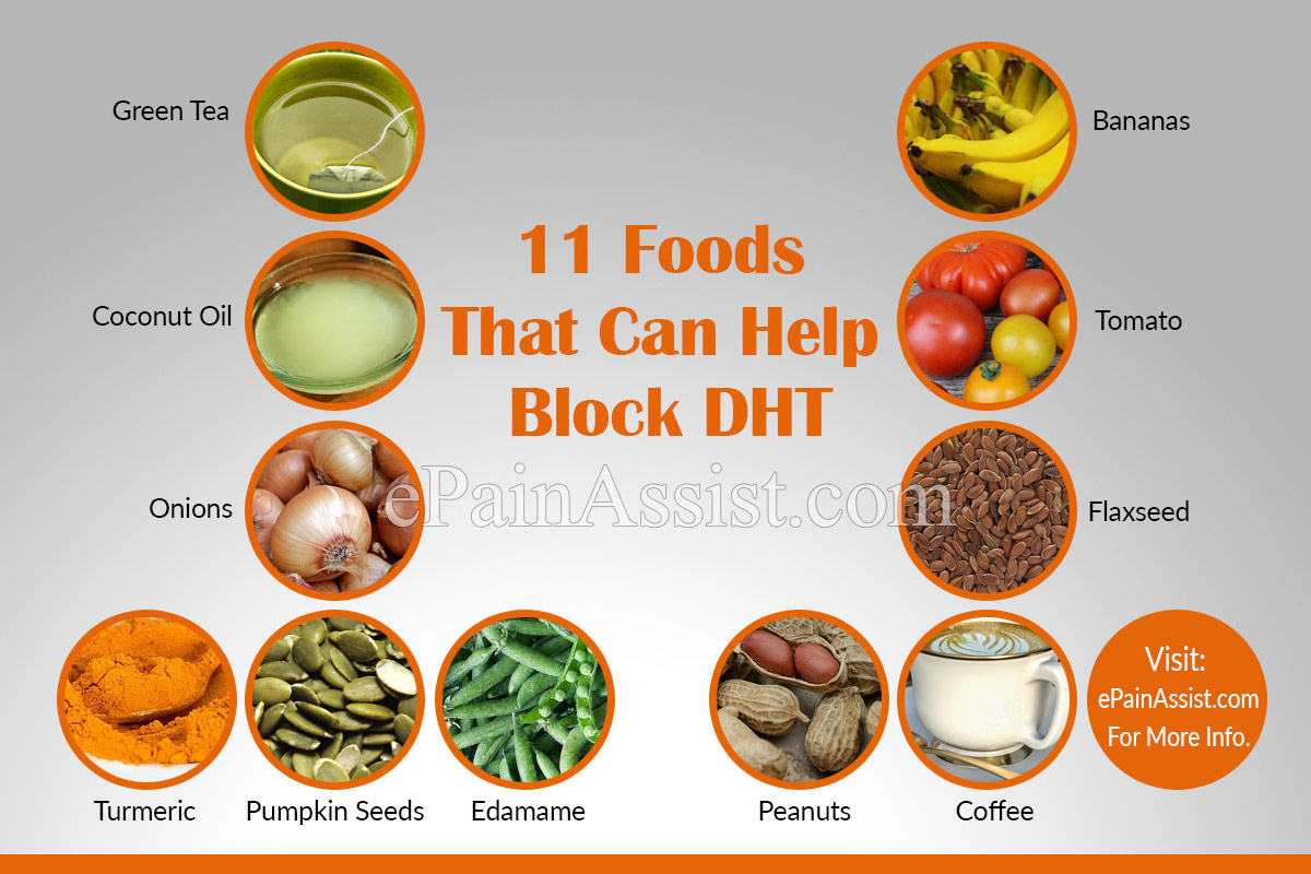 Foods That Can Help Block DHT