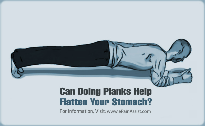 Can Doing Planks Help Flatten Your Stomach?