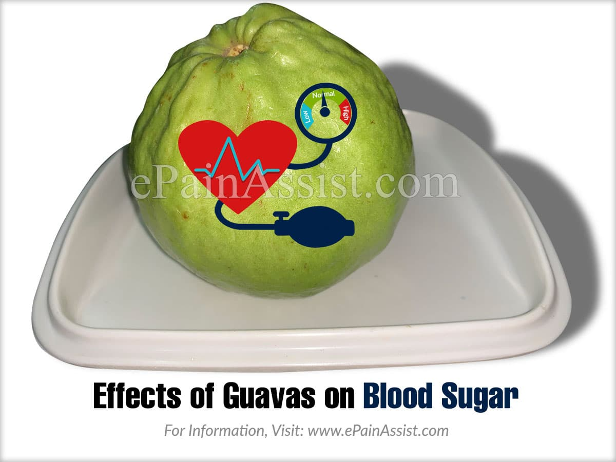 Effects of Guavas on Blood Sugar