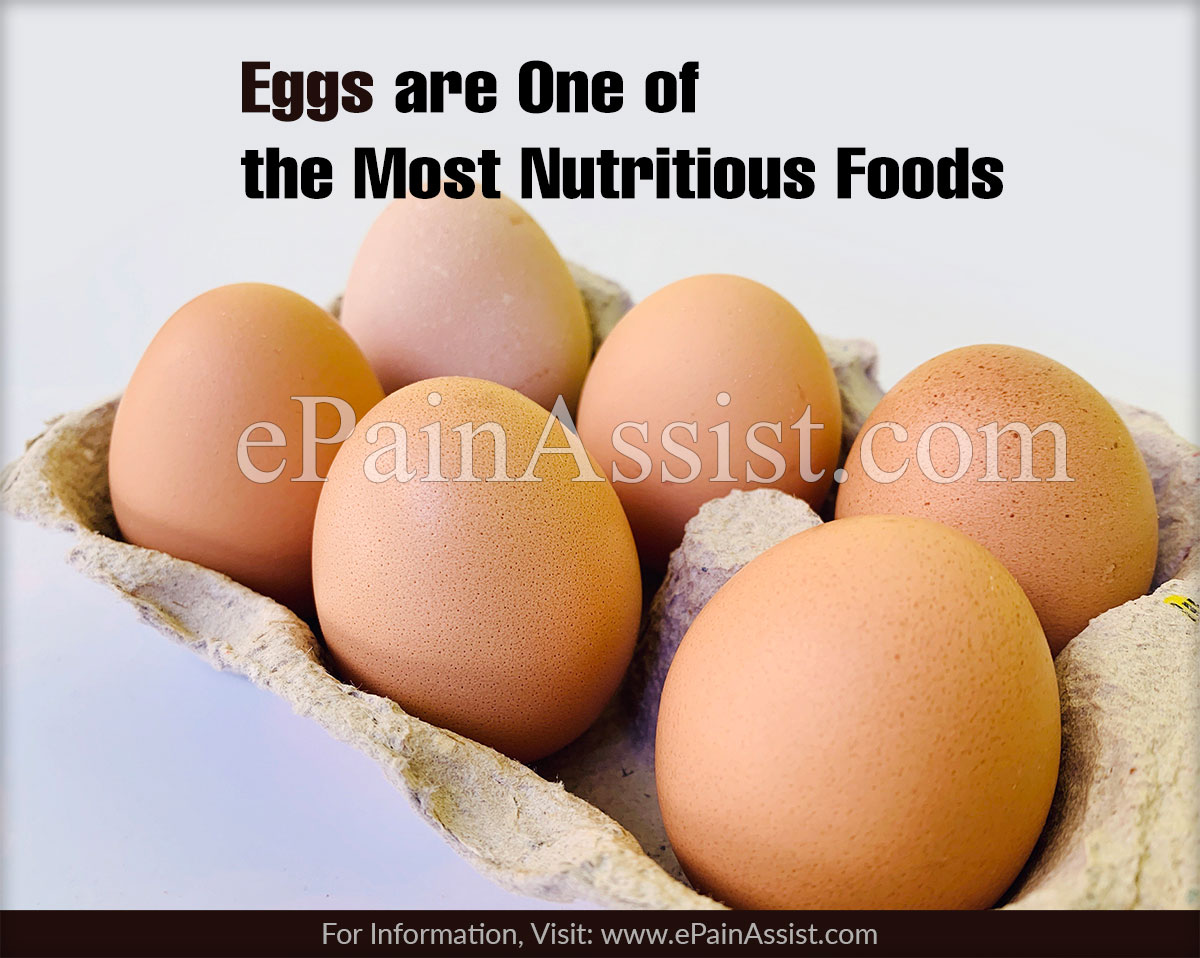Eggs are One of the Most Nutritious Foods