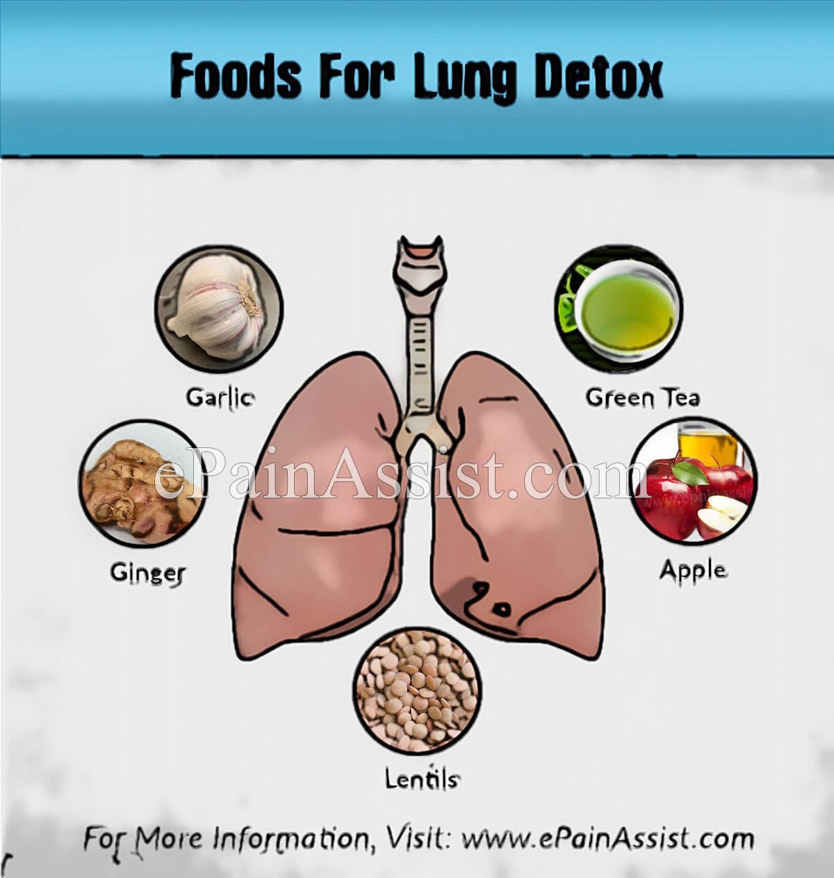Foods for Lung Detox