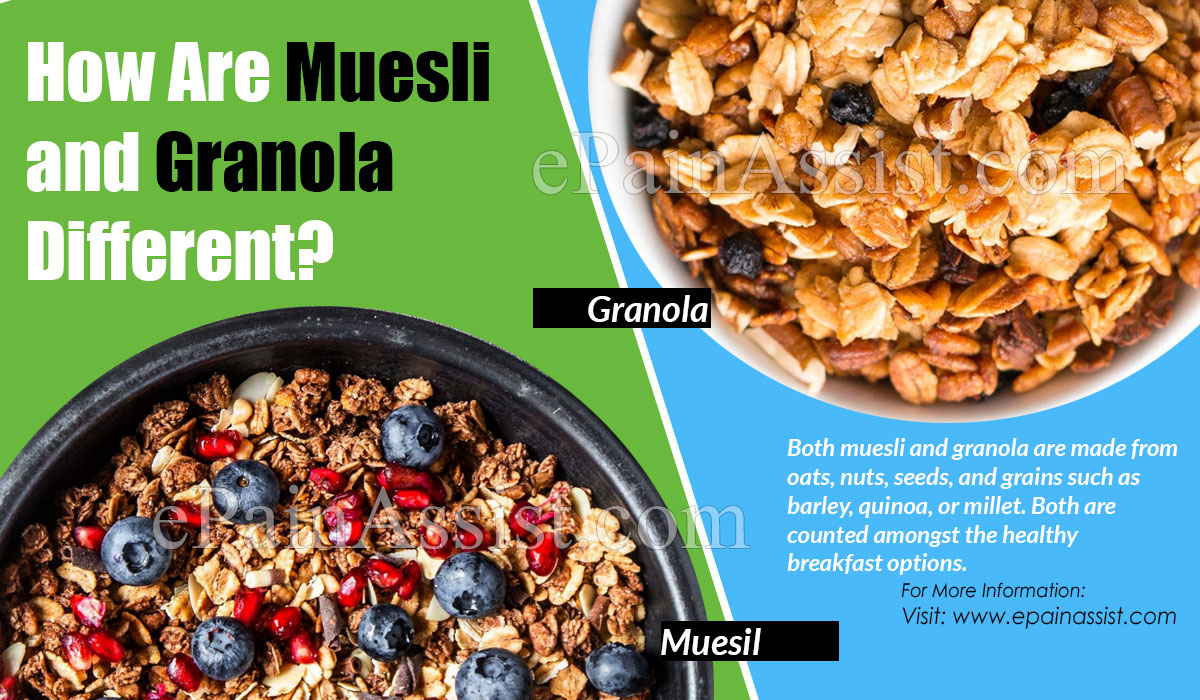 How Are Muesli and Granola Different?