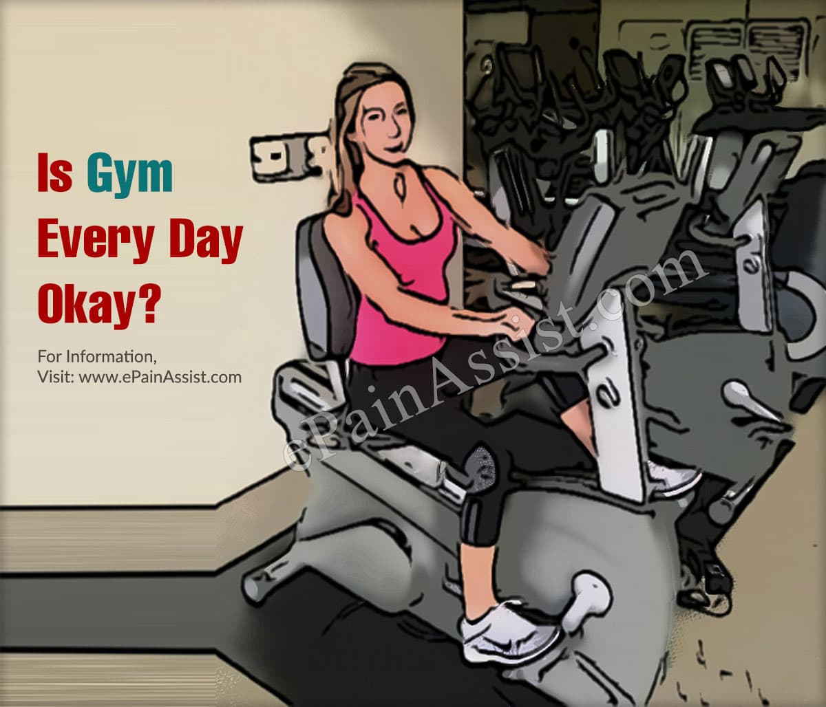 Is Gym Every Day Okay?