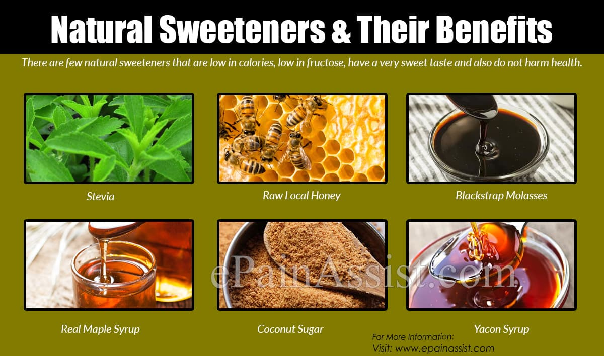 Natural Sweeteners & Their Benefits