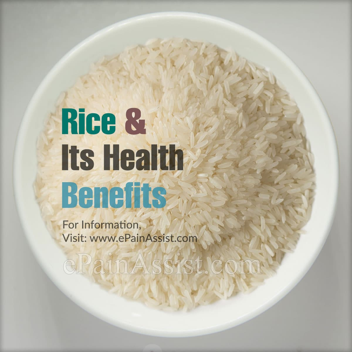 Rice and its Health Benefits
