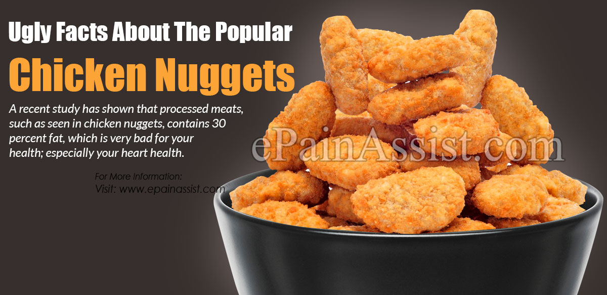 Ugly Facts About The Popular Chicken Nuggets