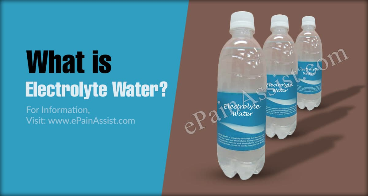 What is Electrolyte Water?