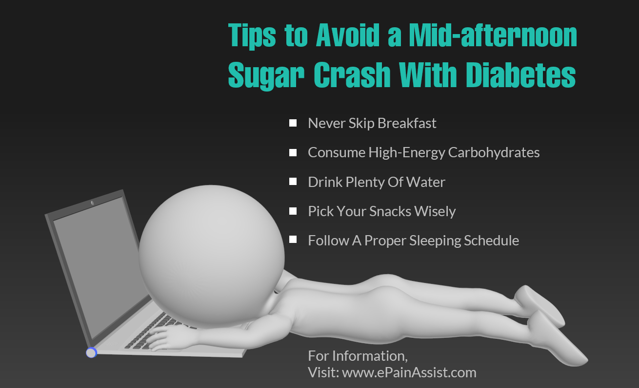 Tips to Avoid a Mid-afternoon Sugar Crash With Diabetes